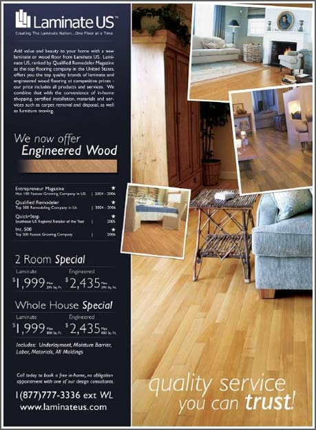 Flooring Magazine Ad Design Flooring Magazine Advertising Design