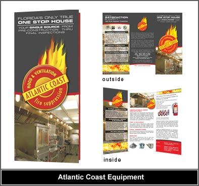 Fire Equipment Brochure Design Restaurant Equipment